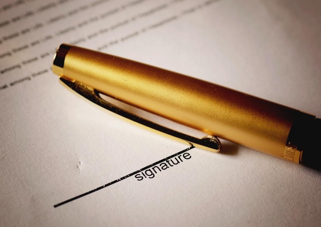 Signature Electronique devis contrat site internet