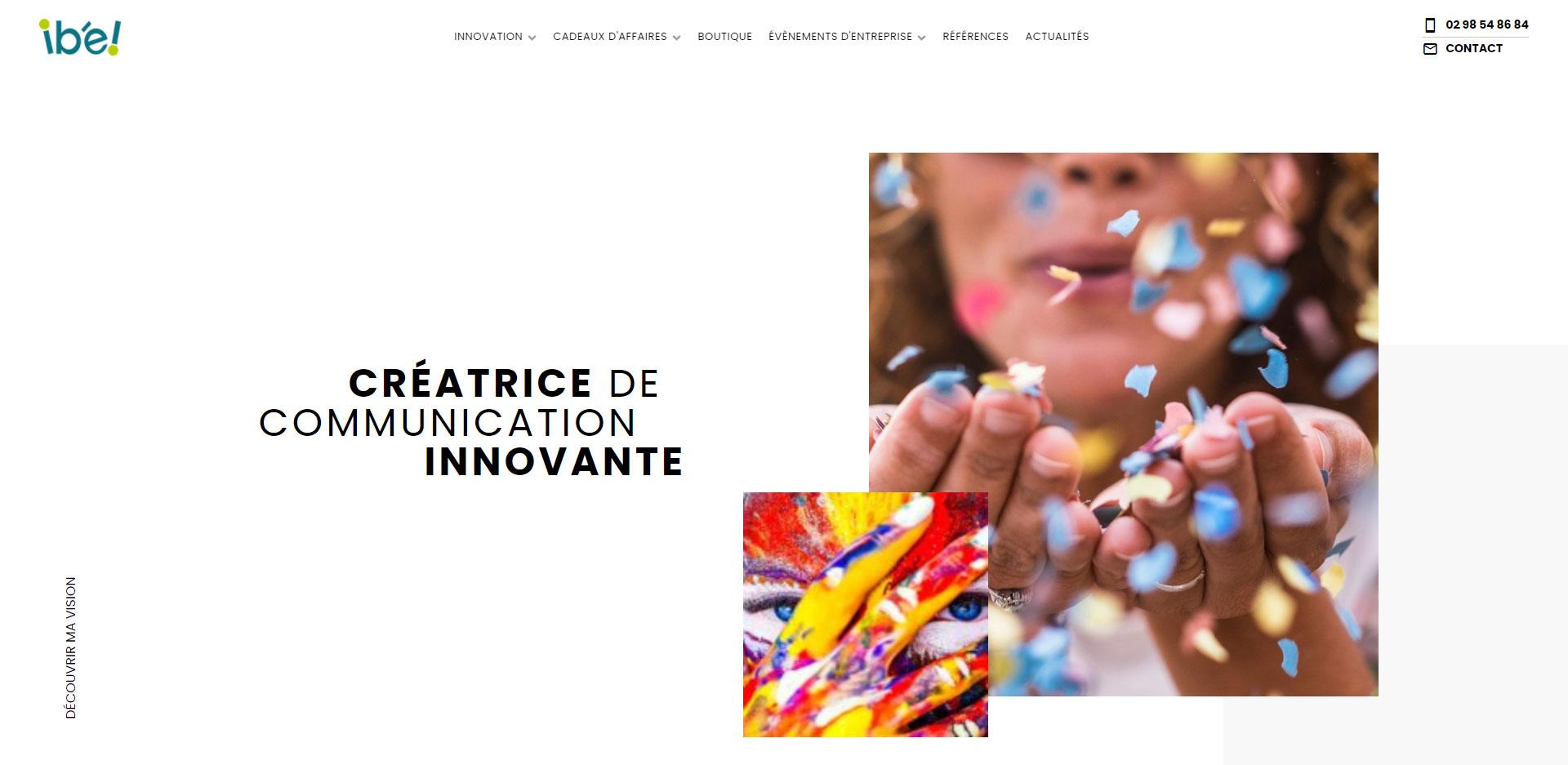 Ibe - Agence de communication par l'objet et en événementiel à Concarneau