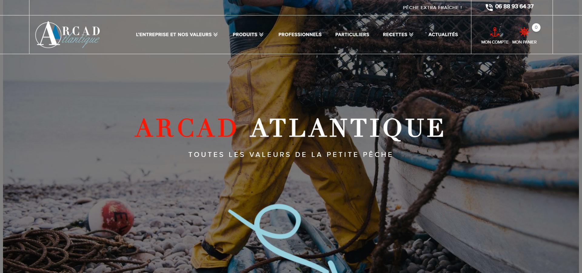 Producteur De Peche Extra Fraiche à Concarneau Arcad Atlantique