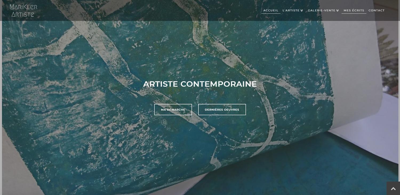Site Web Pour Artiste Peintre